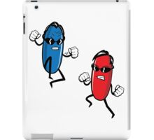 Blue Pill versus Red Pill by Tai's Tees iPad Case/Skin