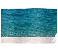 empty beach Poster
