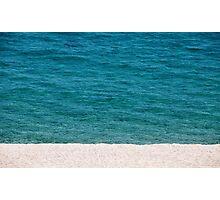 empty beach Photographic Print