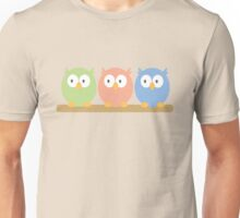 three owls Unisex T-Shirt