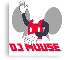 DJ Mouse Canvas Print