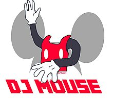DJ Mouse Photographic Print