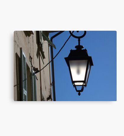 Lantern in the sky Canvas Print