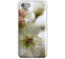 Spring Pear Tree Flowers iPhone Case/Skin