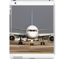 Thomas Cook 757 at Manchester Airport iPad Case/Skin