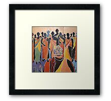 United Colours of Religion: Buddhism Framed Print