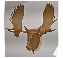 Moose Cardboard Poster