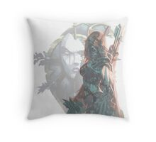 Sylvanas - Queen of the Undeads Throw Pillow