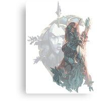 Sylvanas - Queen of the Undeads Canvas Print