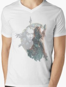 Sylvanas - Queen of the Undeads Mens V-Neck T-Shirt