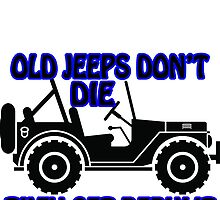 old jeeps by Philtrianojk