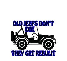 old jeeps Photographic Print