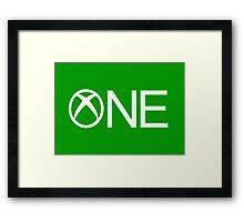 XONE Framed Print