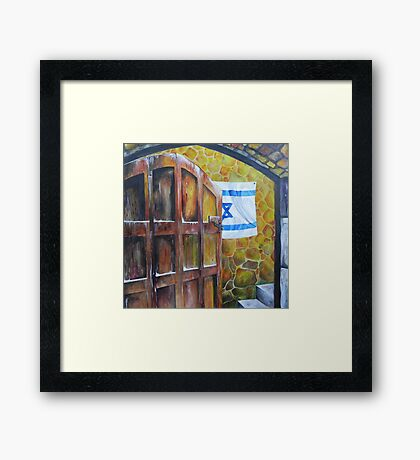 Peace Love Happiness Framed Print