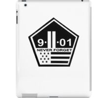 9-11 never forget iPad Case/Skin