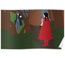 Little Red Riding Hood And the Wolf (INTO THE WOODS)  Poster