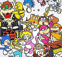 Super Mario 3D World Star Concert 2 by AMPEE