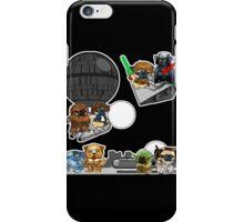 pug wars iPhone Case/Skin