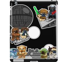 pug wars iPad Case/Skin