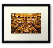 The Casino Royale of the Orient Framed Print