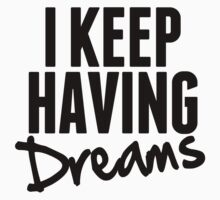 I Keep Having Dreams - Frank Turner Lyrics T-Shirt by robbclarke
