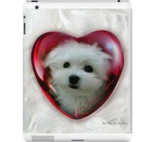 Hermes the Maltese - Little Sweet Heart ! iPad Case/Skin