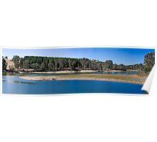 Warren Reservoir Panorama Poster