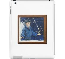 He catches the light for you iPad Case/Skin