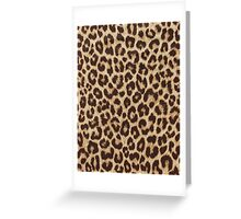 Leopard Print Greeting Card