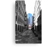 Alley in the North End Canvas Print