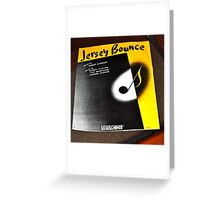 THE JERSEY BOUNCE Greeting Card