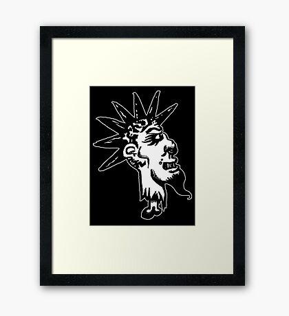 Punk-O Framed Print