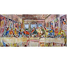 United Colours of Religion: The First Supper Photographic Print
