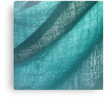 turquoise fabric Canvas Print
