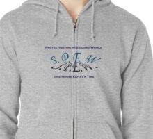 SPEW - Protecting the Wizarding World Zipped Hoodie