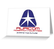 WipEout - Team Auricom Greeting Card