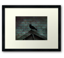 Forgive-quote Framed Print