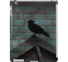 Forgive-quote iPad Case/Skin