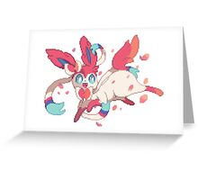 Ninfia Greeting Card