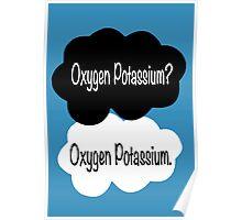 Oxygen potassium. Poster