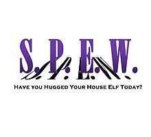 SPEW - Have you Hugged Your House Elf by jezebel521