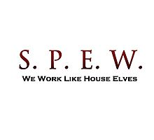 SPEW - Work like House Elves by jezebel521