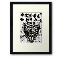 Insoddisfazione (Dissatisfaction) Framed Print