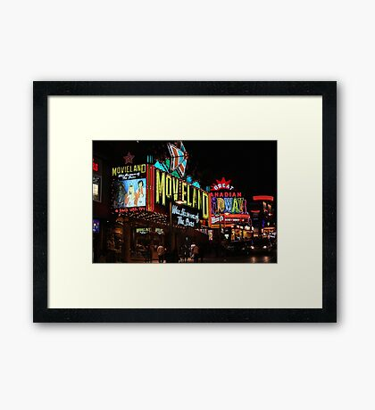 Clifton Hill Framed Print