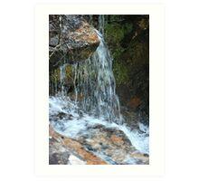 Water splashing Art Print