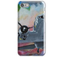 C47 Sky train iPhone Case/Skin