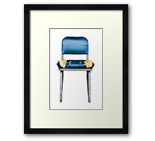 Grungy Chair Framed Print