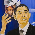 Lincoln-Obama by Boz Vakhshori