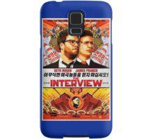 The Interview Poster Samsung Galaxy Case/Skin