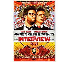 The Interview Poster Photographic Print